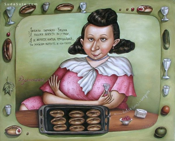 Анжела Джерих 艺术插画欣赏