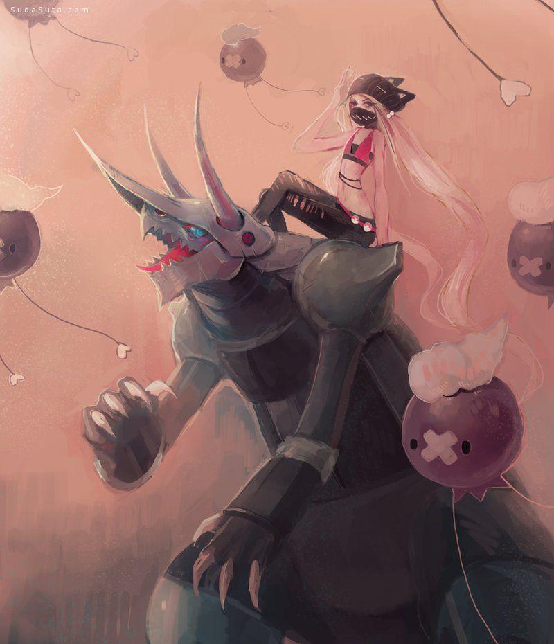 Chaotic-Muffin 幻想插画欣赏