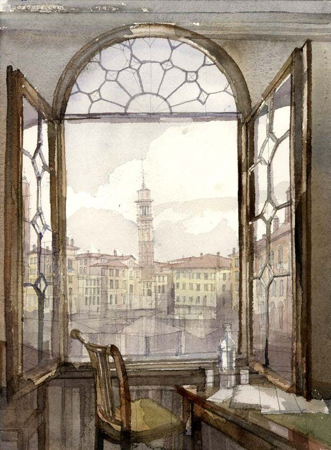 Михаила Филиппова 手绘建筑草图
