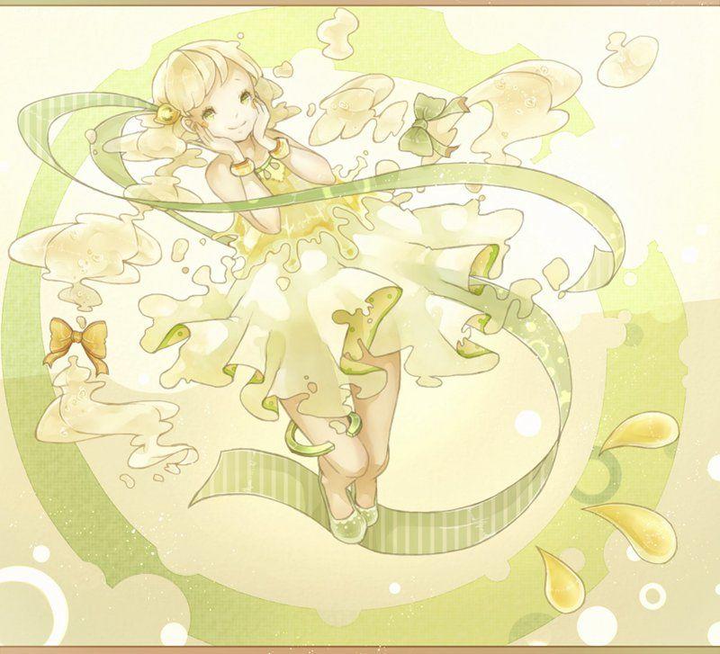 水溜鳥 少女之心 水彩CG欣赏