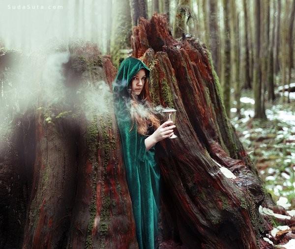 Kindra Nikole  超现实主义摄影作品欣赏