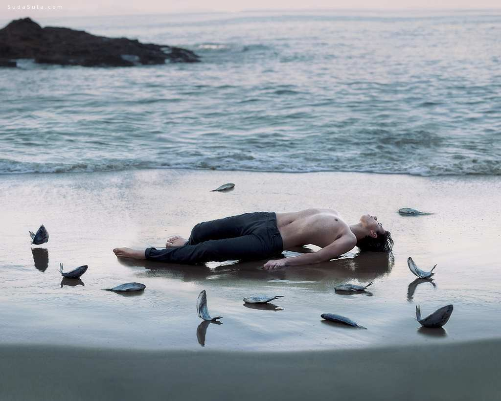 Alex Stoddard 超现实主义人像摄影欣赏