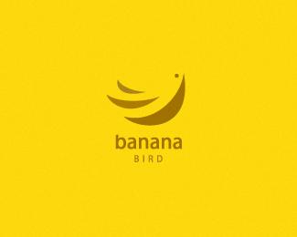 创意LOGO设计欣赏 黄色香蕉