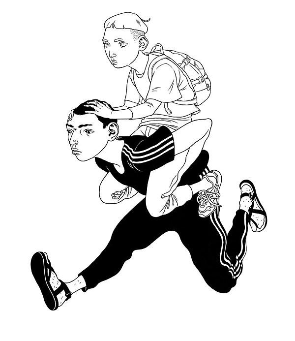 Eero Lampinen 卡通绘画艺术欣赏