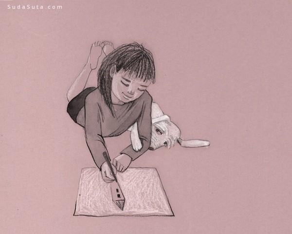 Georgiana Chitac 个性插画欣赏