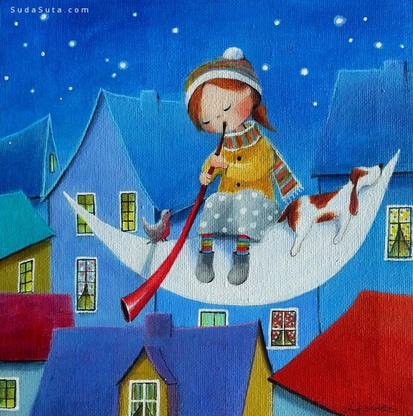 Iwona Lifsches 儿童插画欣赏