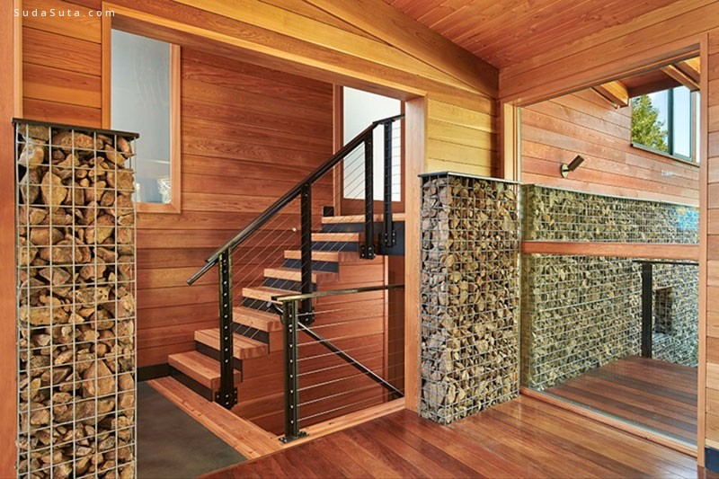Johnston Architects 漂亮的木头房子
