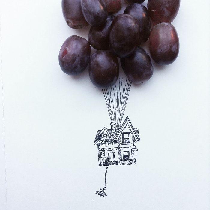 Kristian Mensa 有趣的创意插图