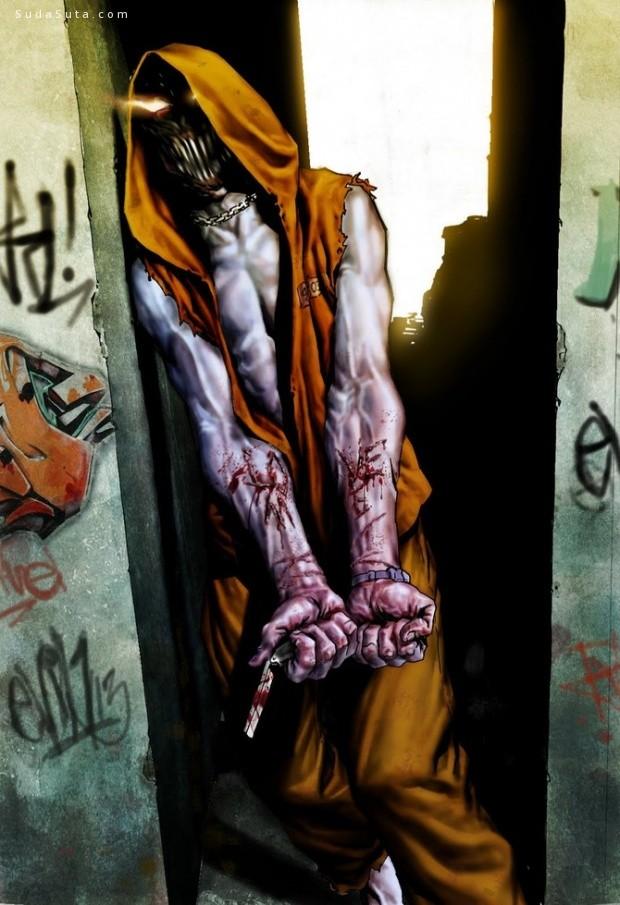 Lee Bermejo 超级英雄插画欣赏