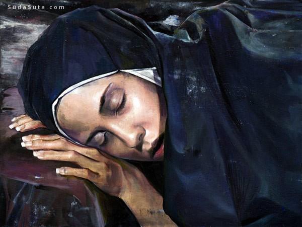 Martin Eder 绘画艺术欣赏