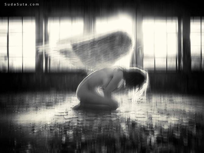 Mrs-White 梦魇 超现实主义摄影作品欣赏