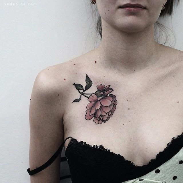 Olga Nekrasova 细腻的纹身艺术欣赏