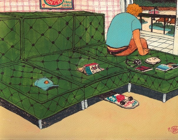 Sung Mo Kang 卡通漫画手绘涂鸦欣赏