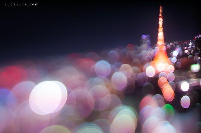 Takashi Kitajima 虚化背景 城市夜景欣赏