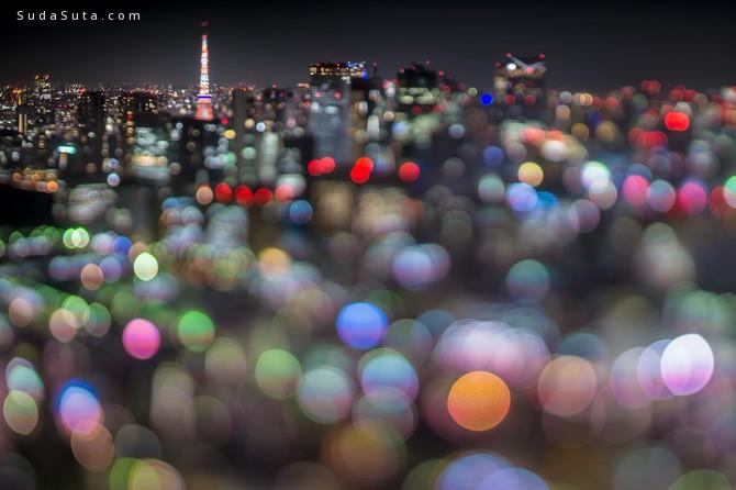 takashi kitajima 梦幻版的城市夜景