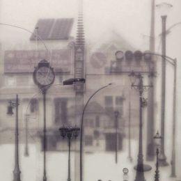 Tang Kwok Hin的透明玻璃拼贴