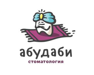 创意logo设计欣赏 牙齿白白