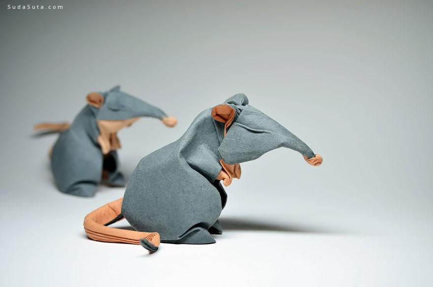 Hoang Tien Quyet 纸张动物雕塑设计
