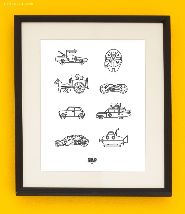 Vic Bell 卡通造型设计欣赏