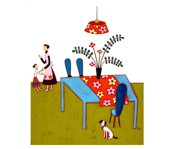 安達有美子 装饰插画欣赏
