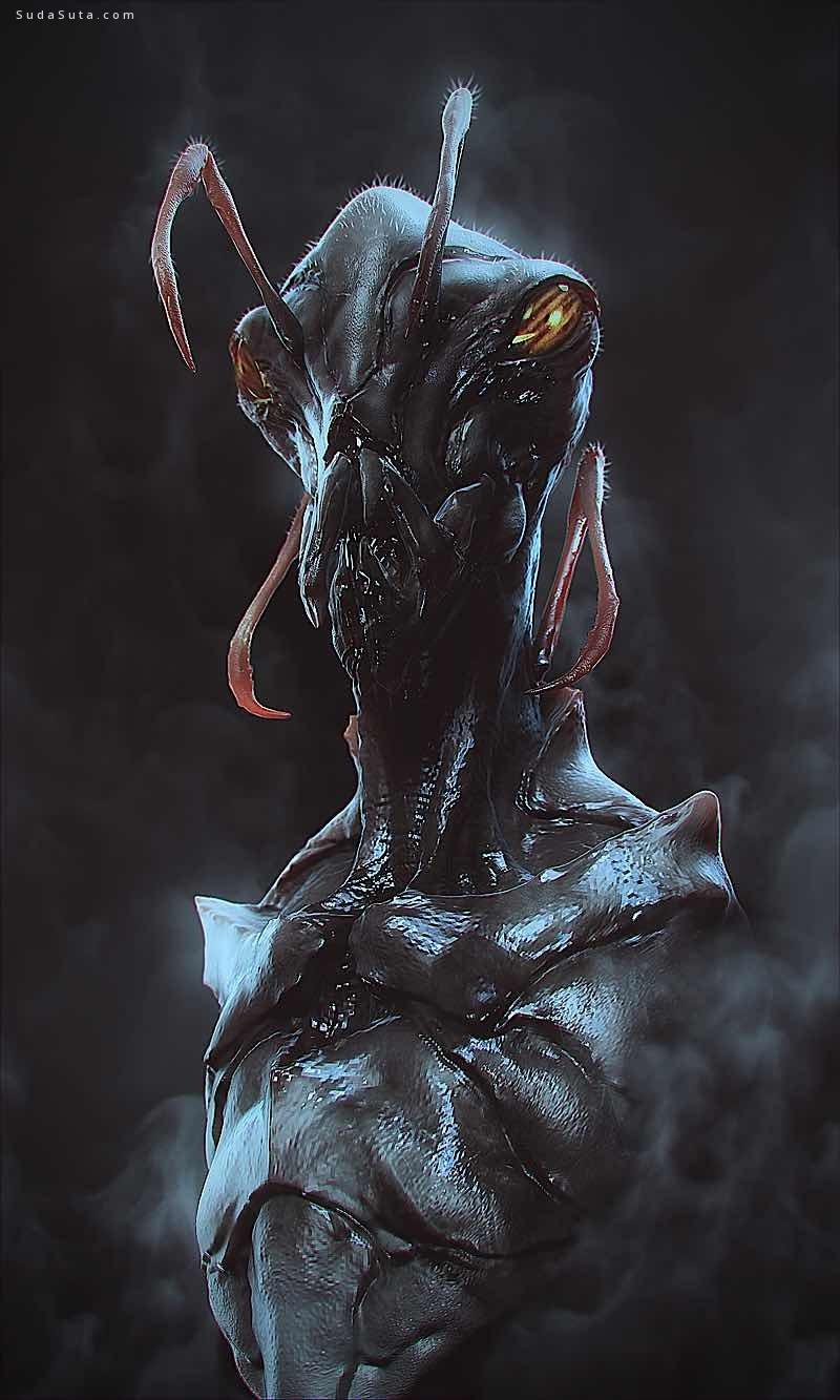 drassi Soufiane 怪物3d造型设计欣赏