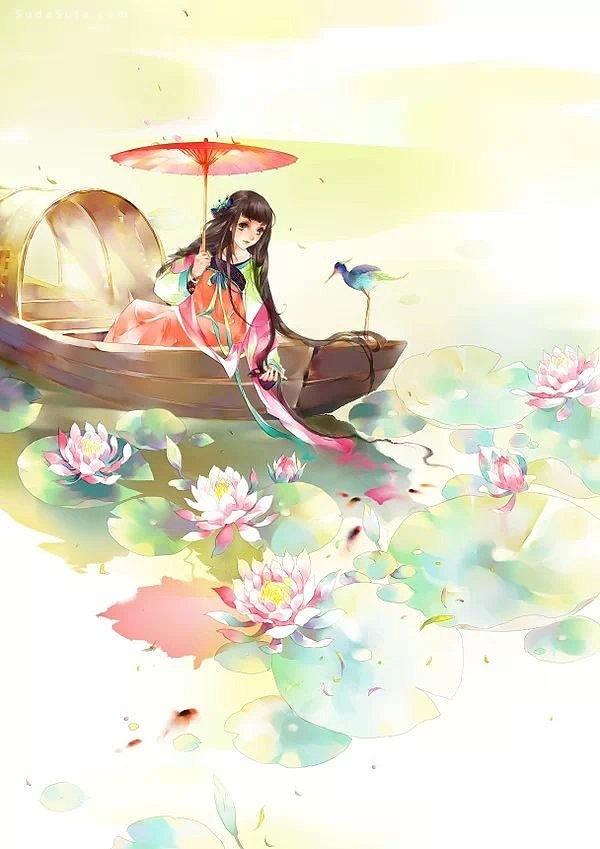 中国风水彩漫画cg欣赏