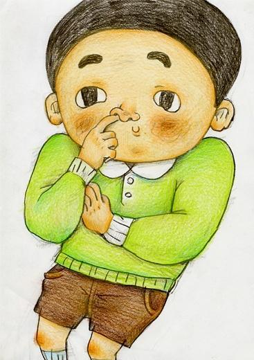 金澤信 儿童插画欣赏