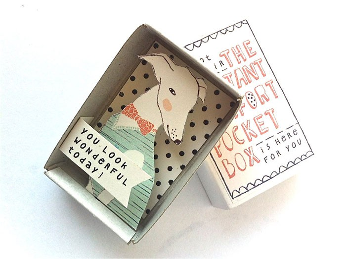 Kim Welling 充满幸福与惊喜的小盒子