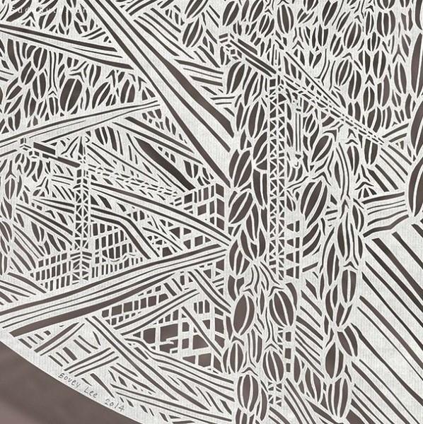 李宝怡 剪纸艺术欣赏