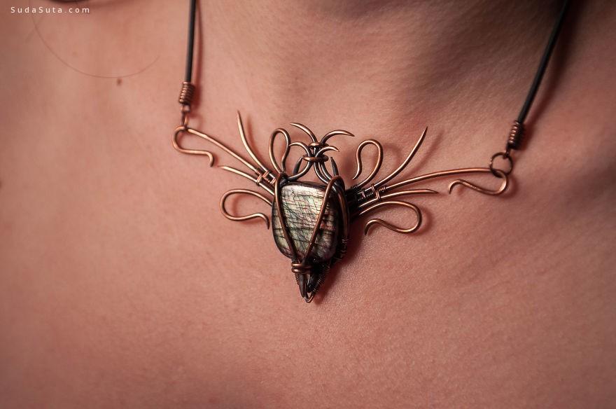 Carolina Breeze 复古奢华的首饰设计欣赏
