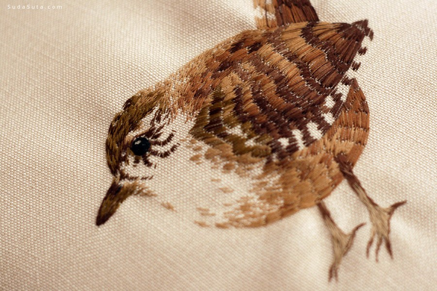 Chloe Giordano 迷你可爱的刺绣设计欣赏