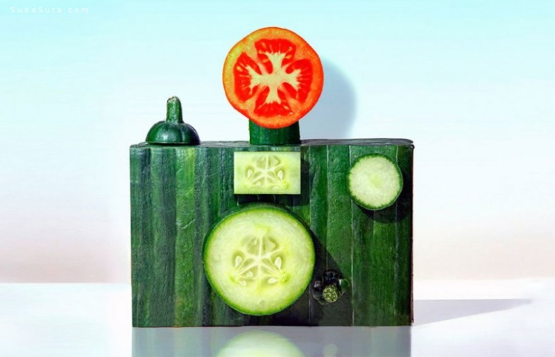 Dan Cretu 怪异的美食雕塑设计欣赏
