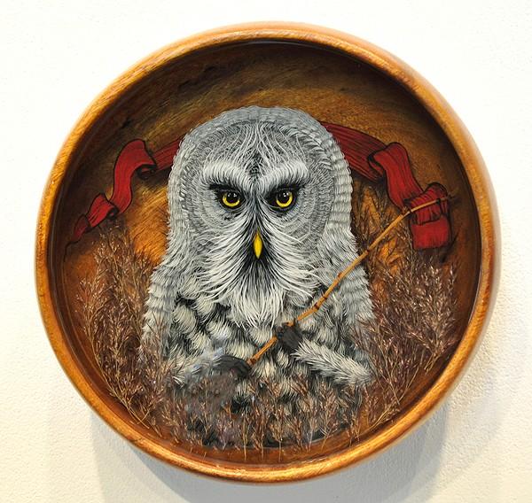 Drew Mosley  立体的艺术故事欣赏
