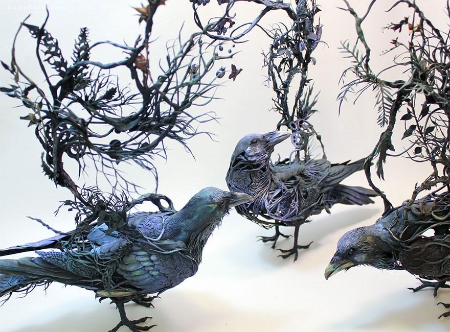 Ellen Jewett 令人窒息的雕塑造型设计欣赏
