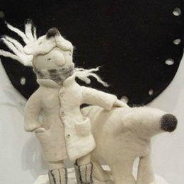 Ирина Андреева 羊毛毡手工玩具
