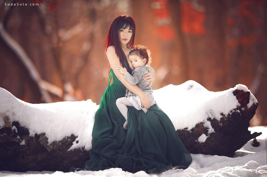 Ivette Ivens 妈妈和宝贝 家庭摄影欣赏