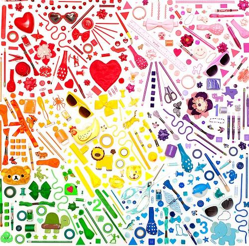 Katie Sokoler 充满色彩的生活摆拍