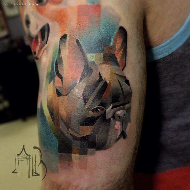 Lesha Lauz 动物纹身艺术欣赏