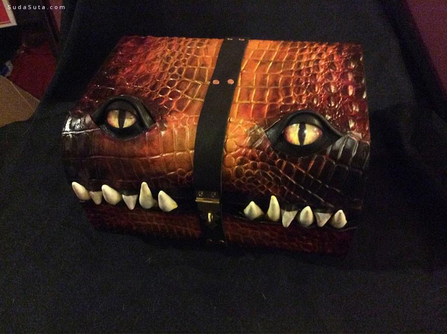 Mellie Z 可爱的怪物箱子