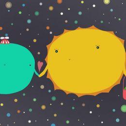 Nagy Hajnalka 可爱的行星漫画