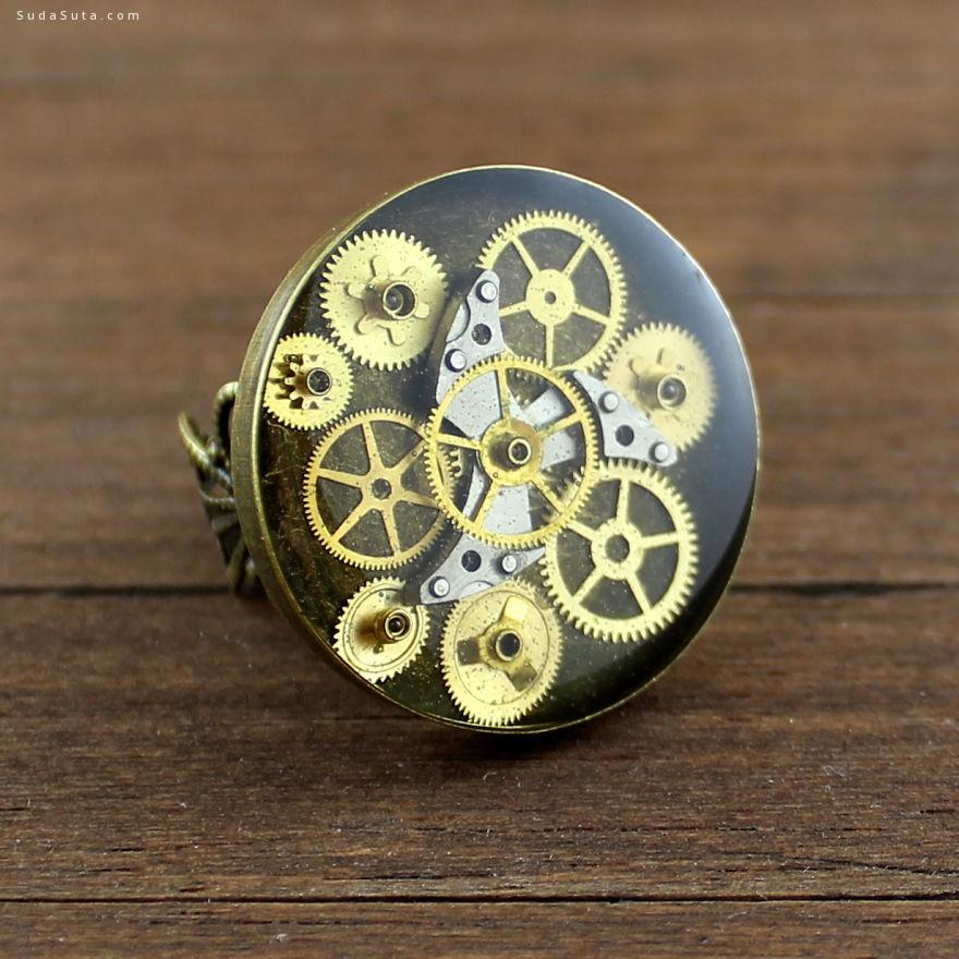 Nestre 蒸汽时代 手工首饰设计欣赏