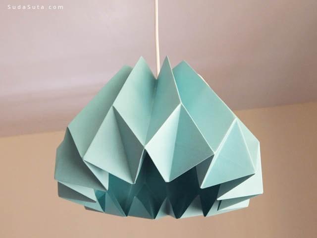 绿色理念的diy纸灯设计欣赏