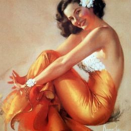 Rolf Armstrong 泳装女生