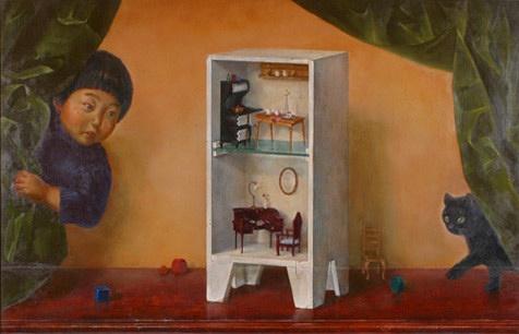 白川美紀 唯美的绘画艺术欣赏
