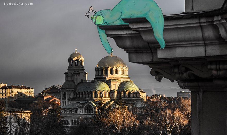Atanas Kutsev 的城市怪物