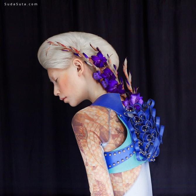 Studio Peripetie 花与少女 时尚摄影欣赏