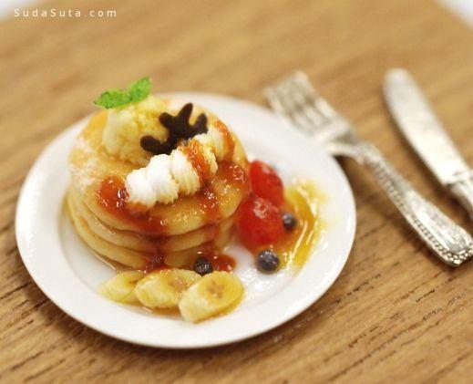 田中智  的微雕美食