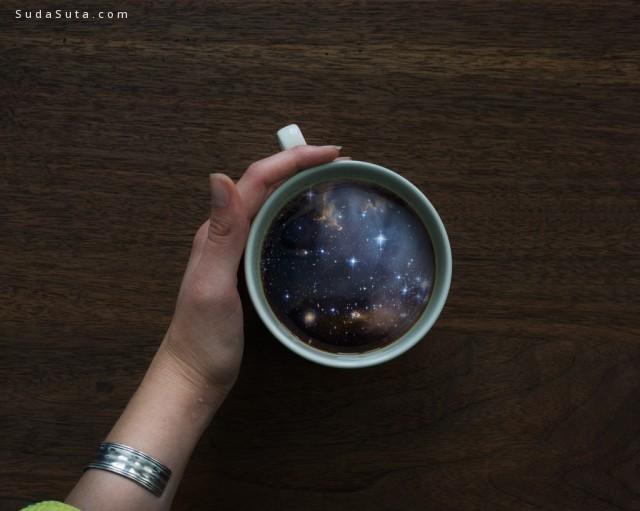 Victoria Siemer  咖啡杯中的宇宙