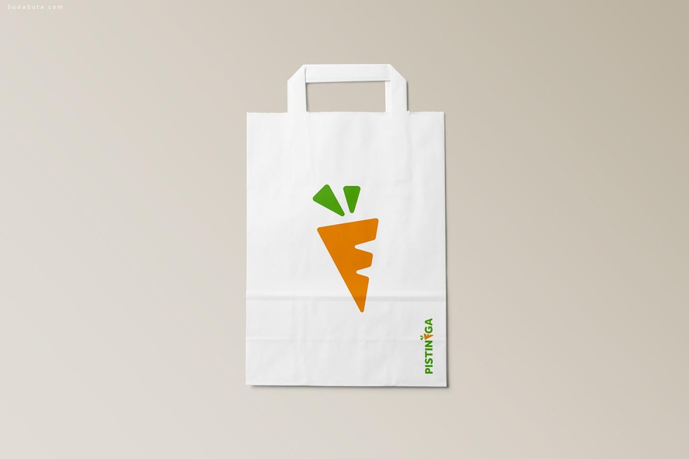 Pistinèga 胡萝卜的品牌设计欣赏