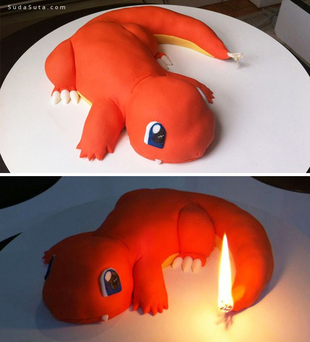 让人不忍下口的创意蛋糕设计欣赏